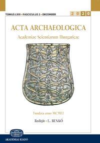 Cover Acta Archaeologica Academiae Scientiarum Hungaricae