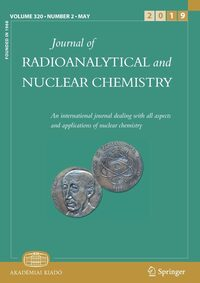 Cover Journal of Radioanalytical and Nuclear Chemistry