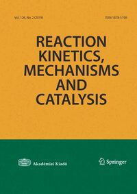 Cover Reaction Kinetics, Mechanisms and Catalysis