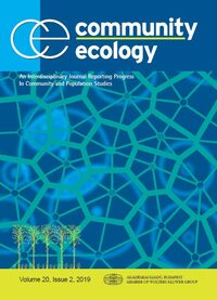 Cover Community Ecology