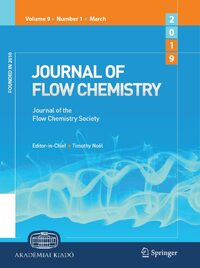 Cover Journal of Flow Chemistry