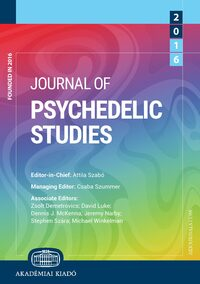 Cover Journal of Psychedelic Studies