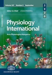 Cover Physiology International
