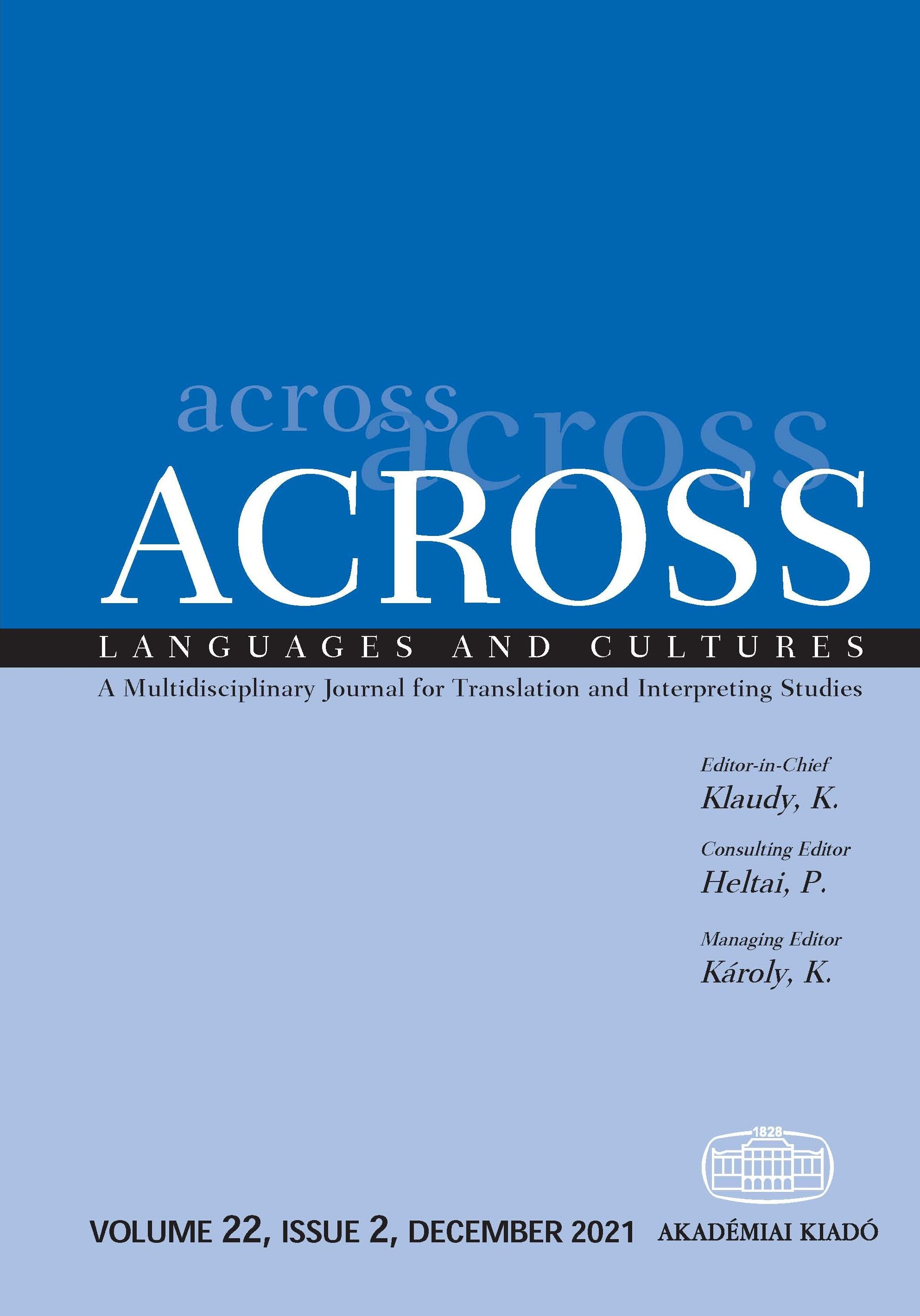 Across languages and cultures