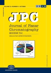 Cover JPC - Journal of Planar Chromatography - Modern TLC