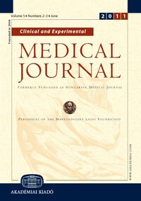 Cover Clinical and Experimental Medical Journal