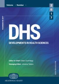 Cover Developments in Health Sciences