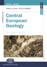 Cover Central European Geology